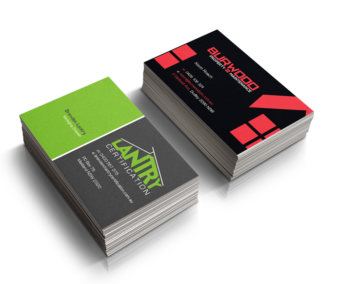 Standard business cards next day label printing colourmoves